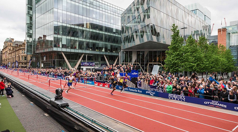 The GreatCity Games will take place in Manchester on Friday ©Getty Images