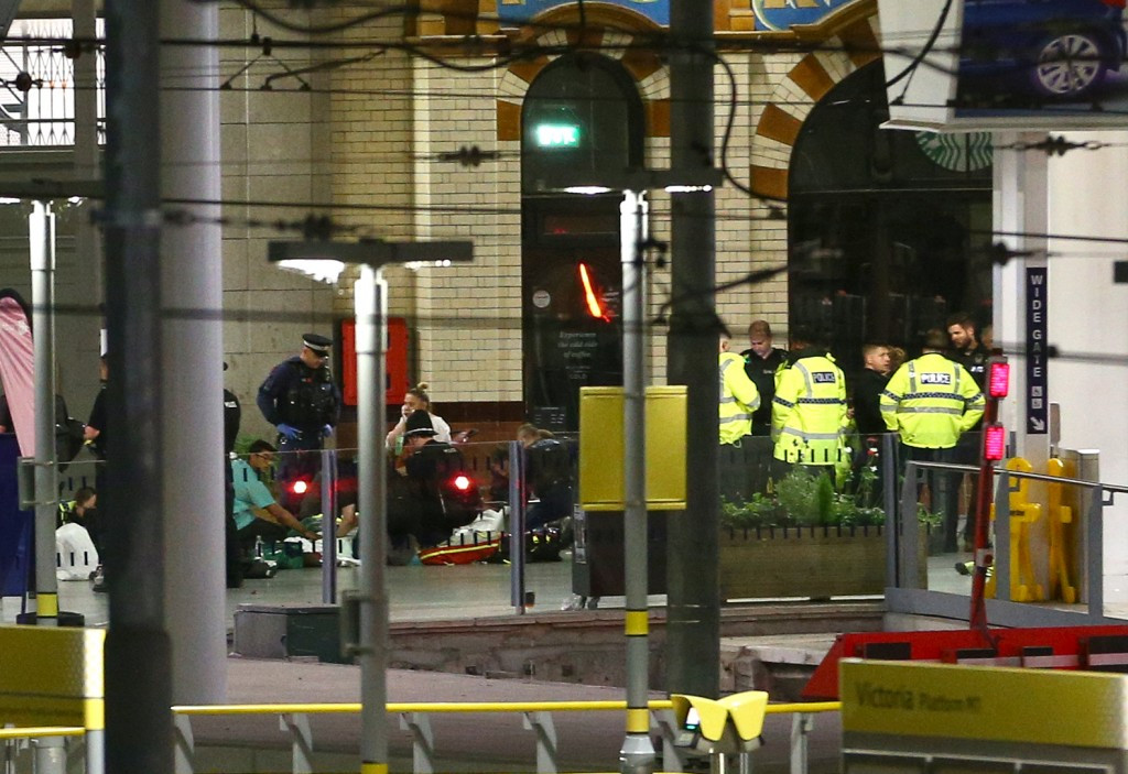 Police have confirmed at least 22 people died and a further 64 people are injured following the terrorist attack at the Manchester Arena on Monday ©Getty Images