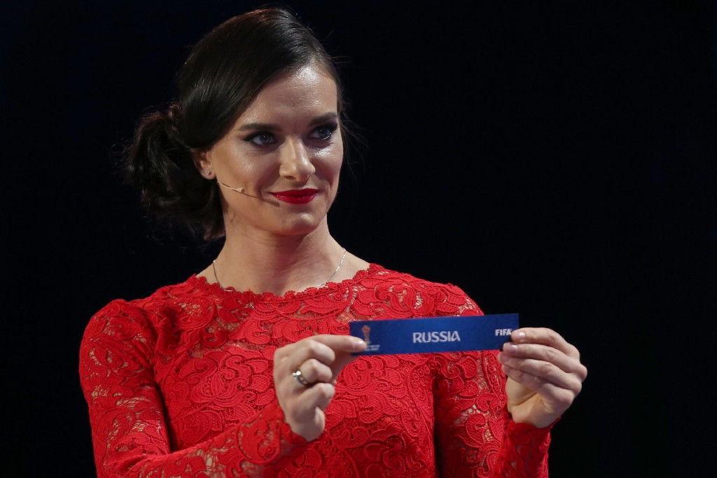 The pending removal of Yelena Isinbayeva as chairperson of RUSADA is a key factor in their bid for re-compliance ©Getty Images