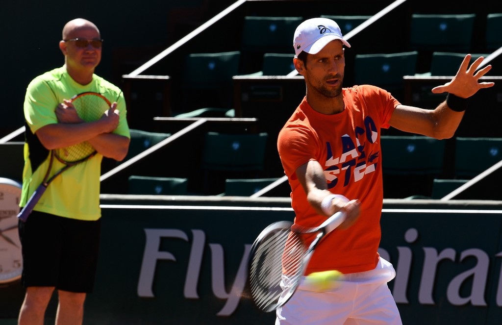 Djokovic happy on eve of French Open with Agassi as coach
