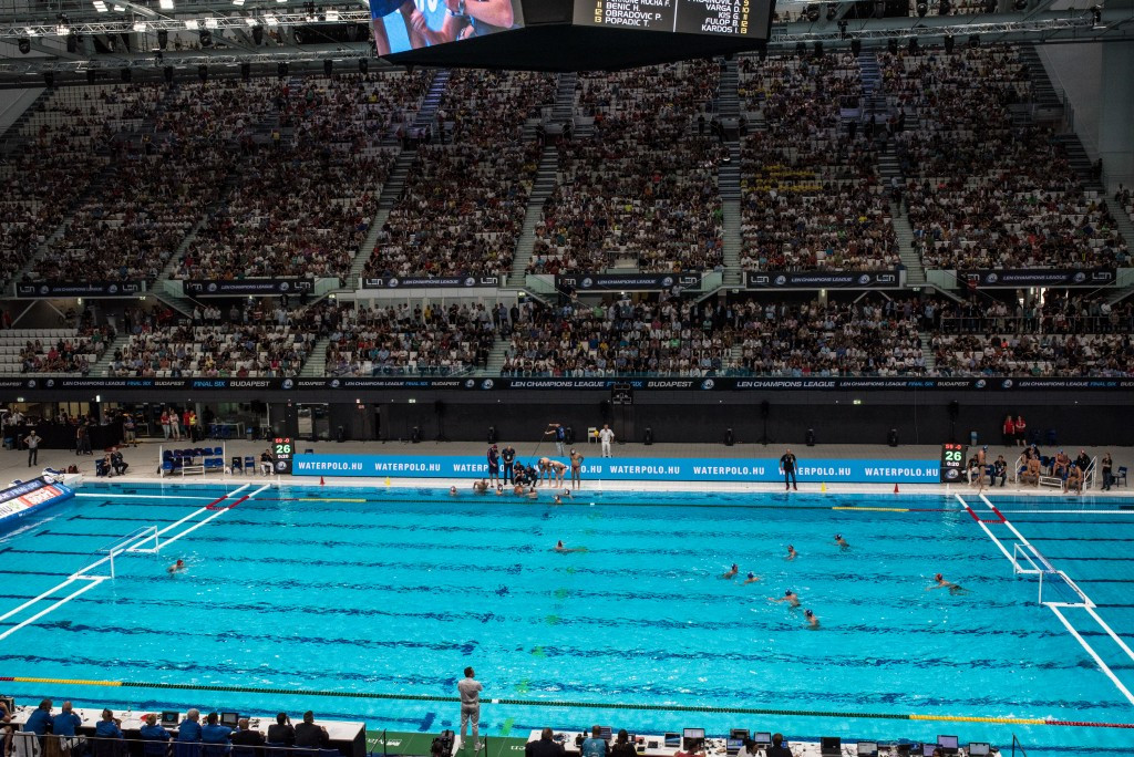 Budapest continue preparations for World Aquatics Championships with competition at Danube Arena