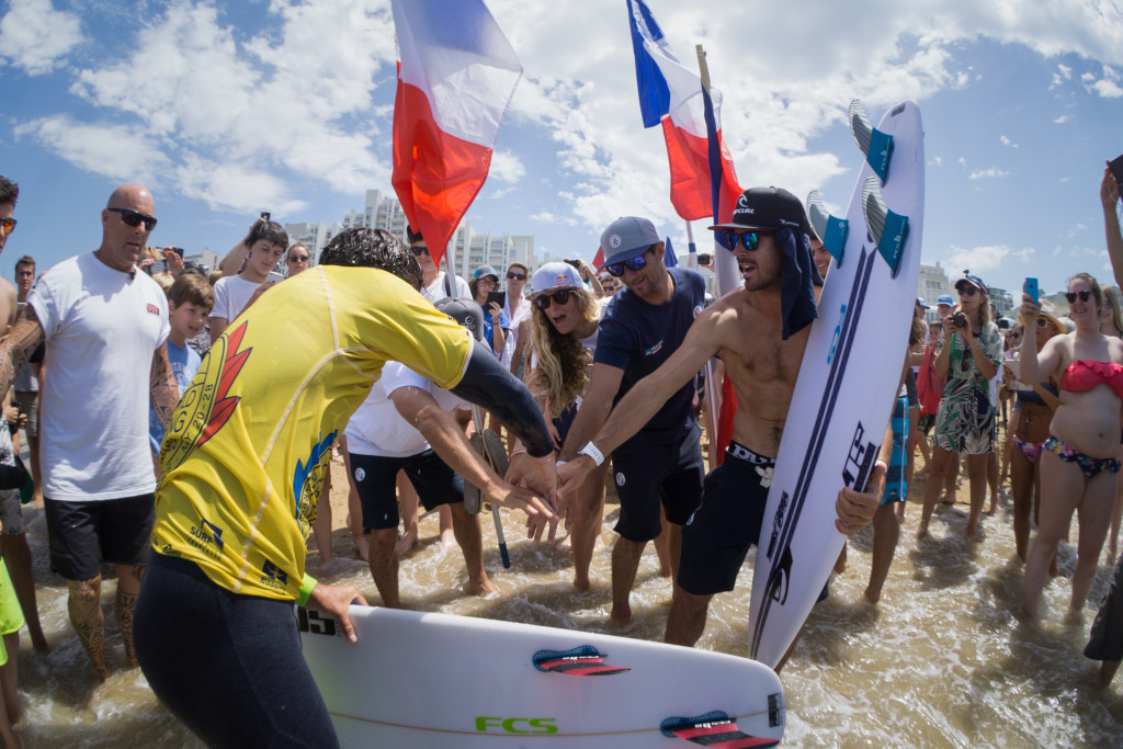 France claim maiden team title at ISA World Surfing Games in Biarritz