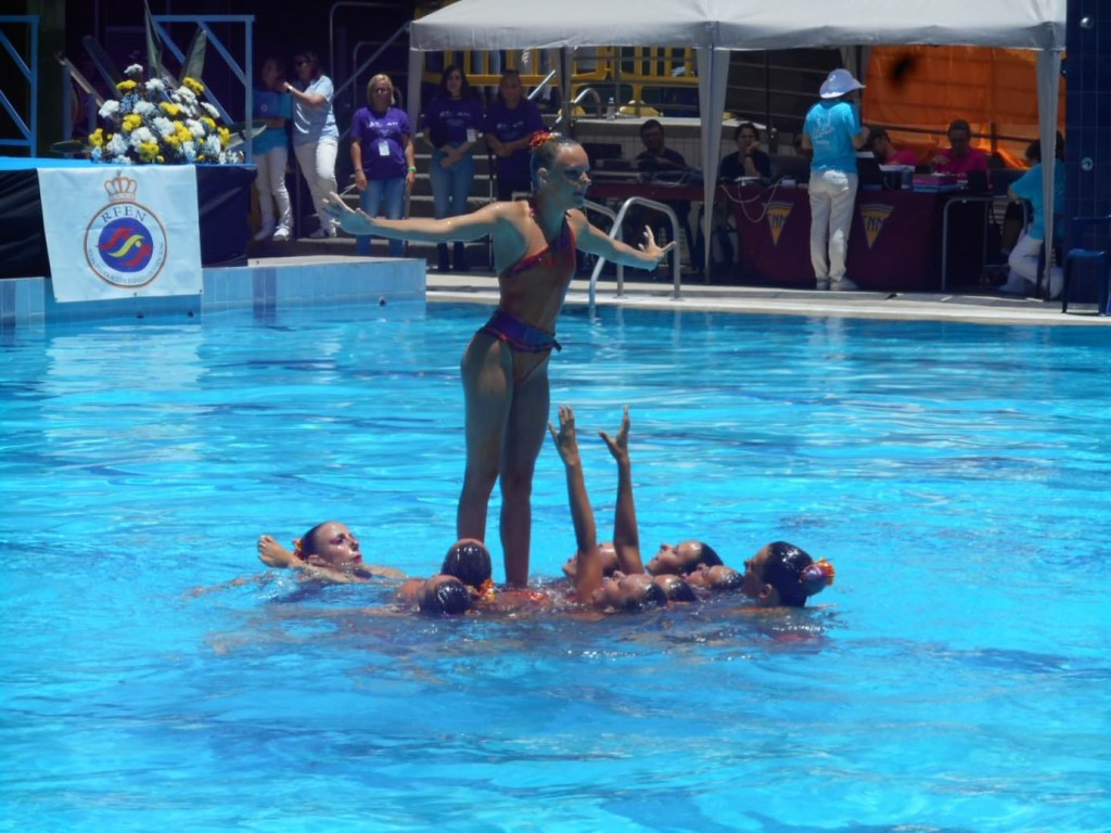 The fifth leg of the FINA Synchronised Swimming World Series drew to a close in Las Palmas ©FINA