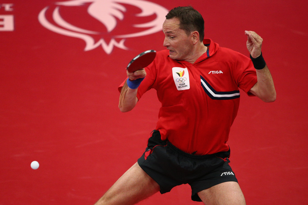 Belgium's Jean-Michel Saive believes his playing experience gives him an advantage ©Getty Images