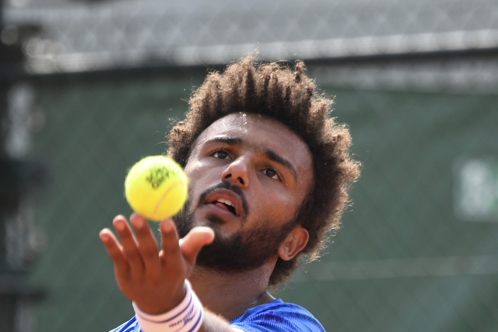 Hamou banned from French Open after attempting to kiss female reporter during interview