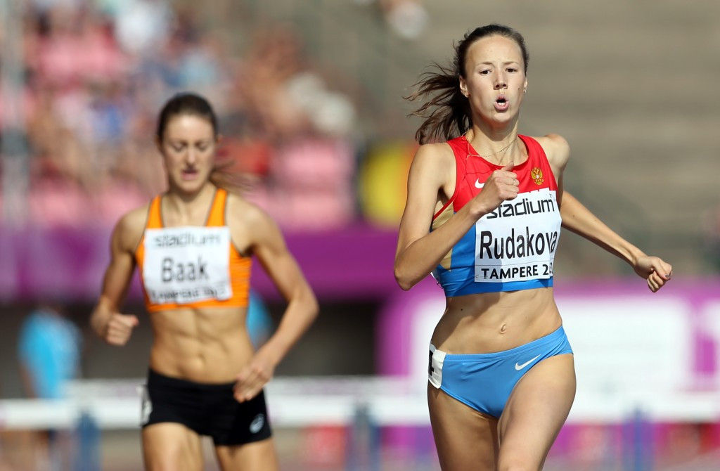 Vera Rudakova, a 400m hurdler, was one of three Russian athletes to have been cleared to compete as neutrals by the IAAF Doping Review Board yesterday ©Getty Images