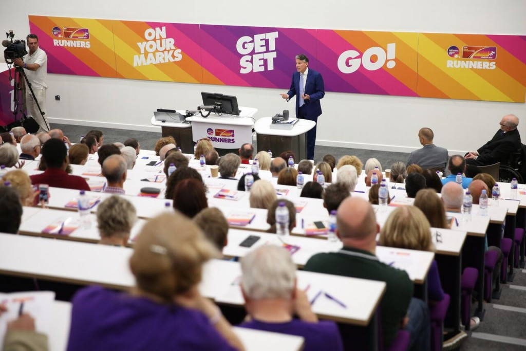 Sebastian Coe was speaking at the official opening of the Volunteer Training Centre for the London 2017 World Athletics Championships and World Para Athletics Championships ©London 2017