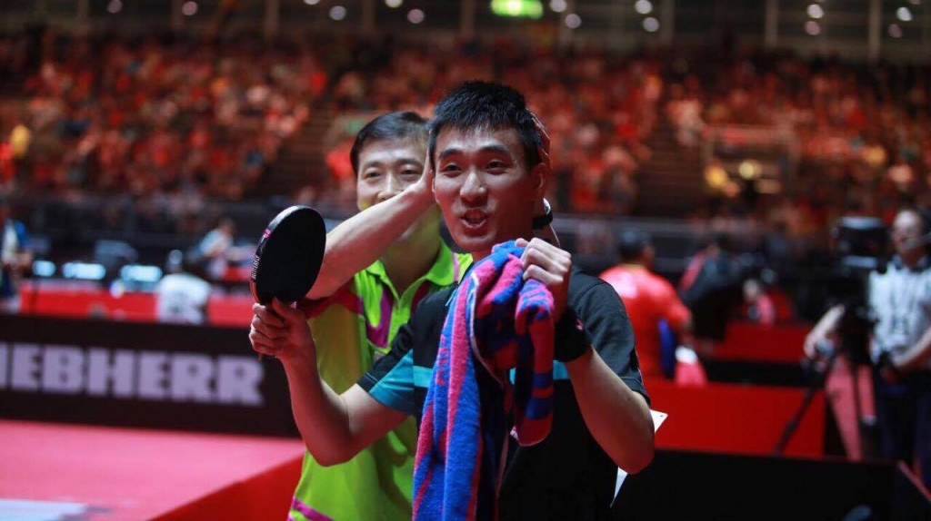 Two-time winner Zhang Jike suffers shock defeat at World Table Tennis Championships