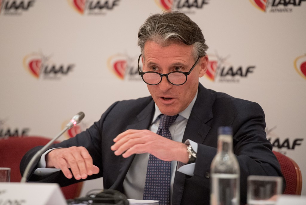 Similar plans have already been put forward by the IAAF President Sebastian Coe ©Getty Images