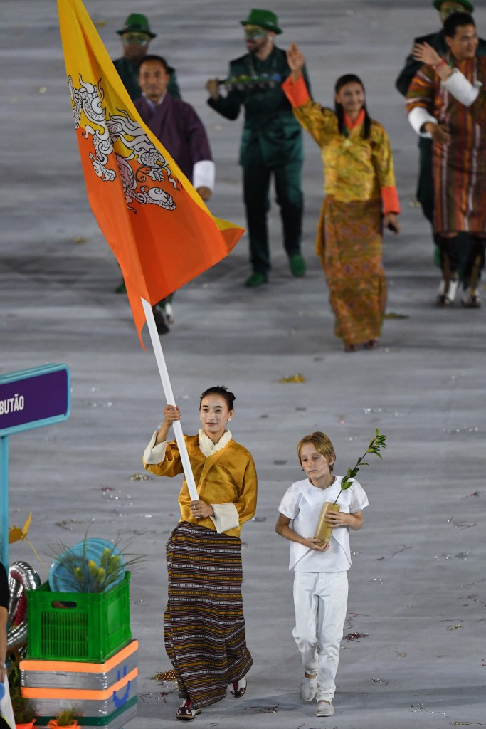 Bhutan sent a team of two to the 2016 Olympic Games in Rio de Janeiro ©Getty Images