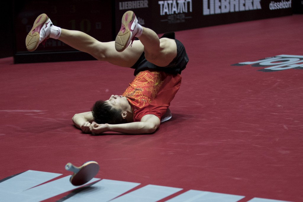 China celebrate after two epic finals at World Table Tennis Championships