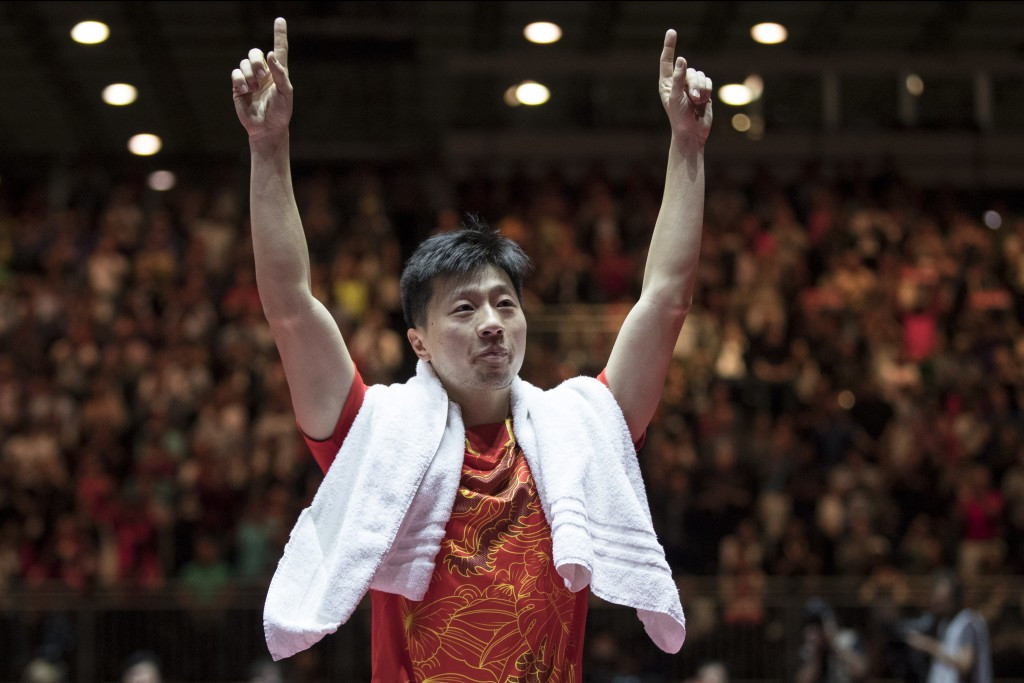 Ma wins epic battle to claim second successive table tennis singles world title