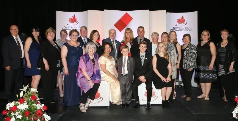 Skate Canada stage annual Achievement Awards Gala
