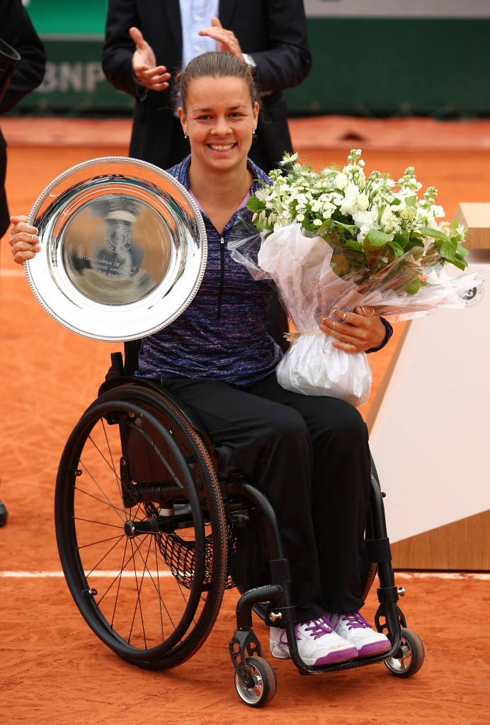 Buis eyes defence of women's wheelchair singles crown at French Open