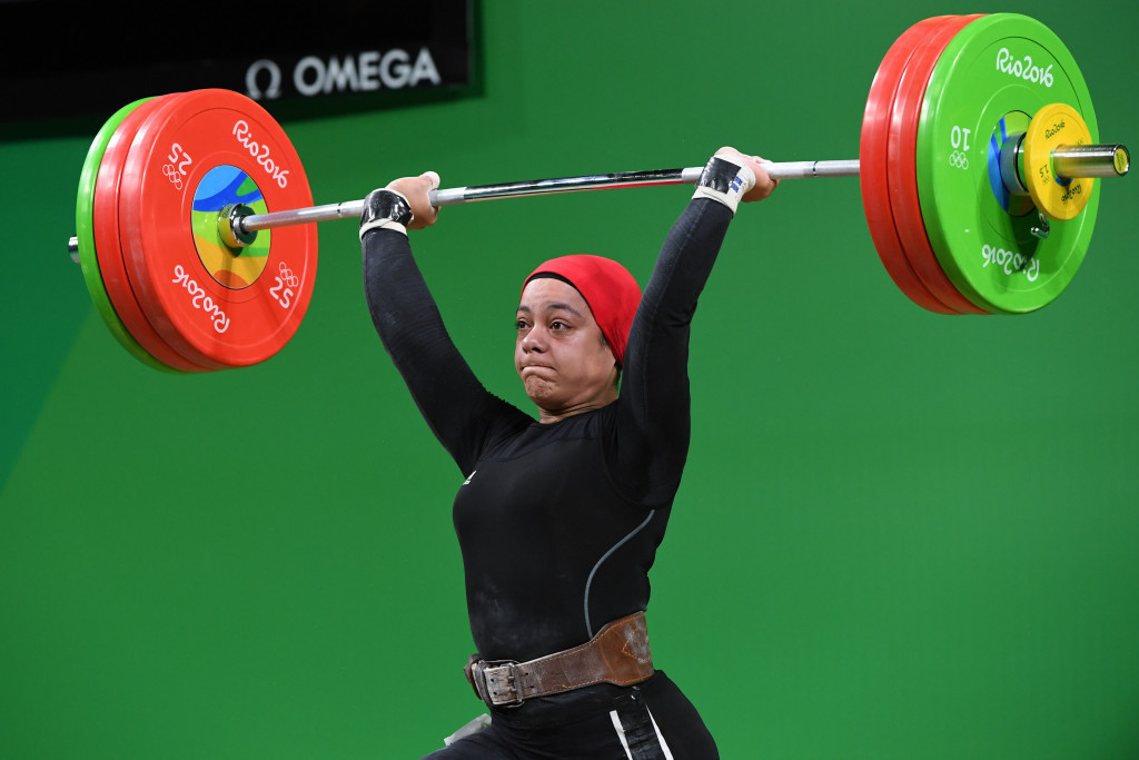 Sara Ahmed's Olympic bronze medal at Rio 2016 was a positive story for Egyptian weightlifting ©Getty Images