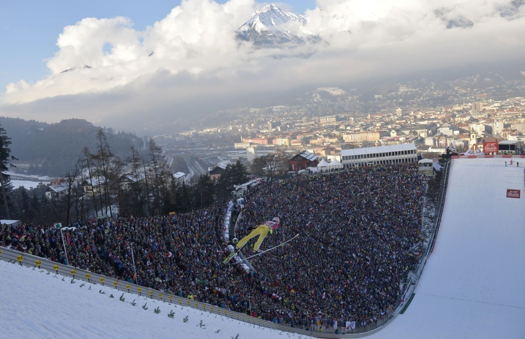 A possible bid from Innsbruck for the 2026 Winter Olympic and Paralympic Games has been backed by the Austrian Government ©Getty Images