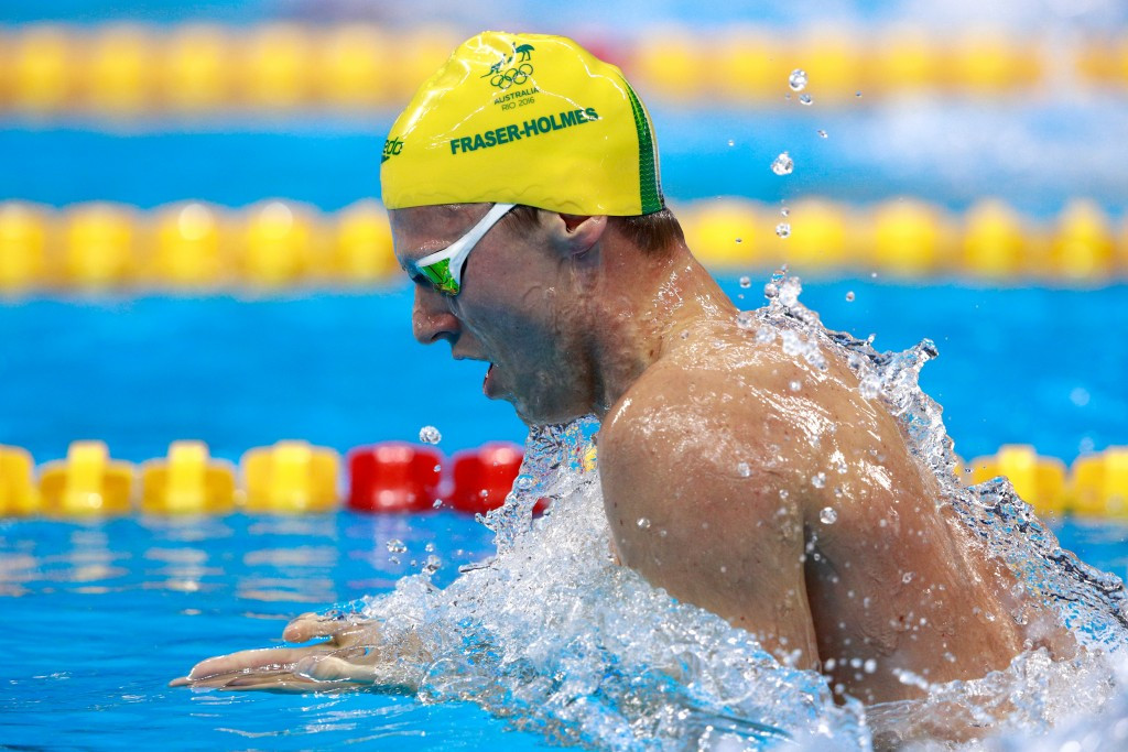 Olympic swimmer Fraser-Holmes banned for a year for missing three drug tests