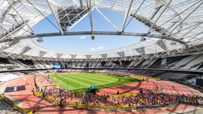 More than 17,000 runners enjoyed the opportunity to take part in the Morrisons Great Newham London Run which finished on the track inside the London 2012 Olympic Stadium