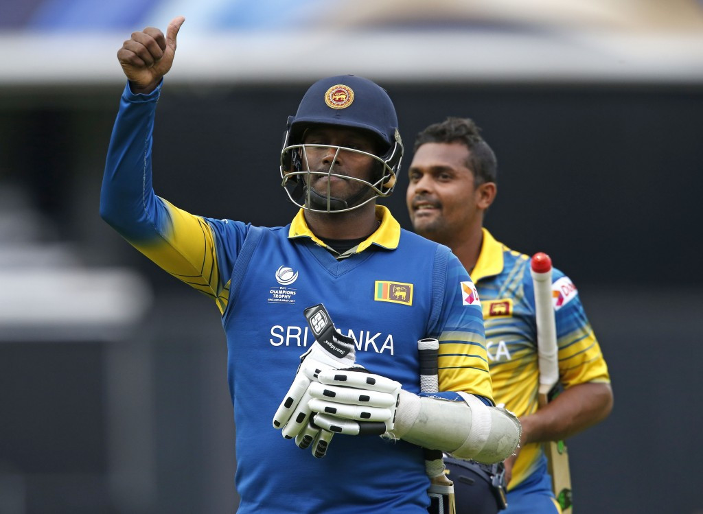 Sri Lanka chase big total to beat India at ICC Champions Trophy