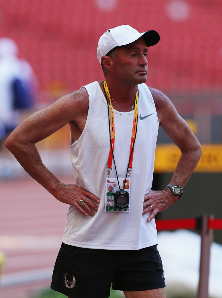 Nike Oregon Project head coach Alberto Salazar denies any wrongdoing in connection with the investigation ©Getty Images