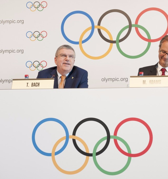 Thomas Bach announced the IOC proposals ©Getty Images