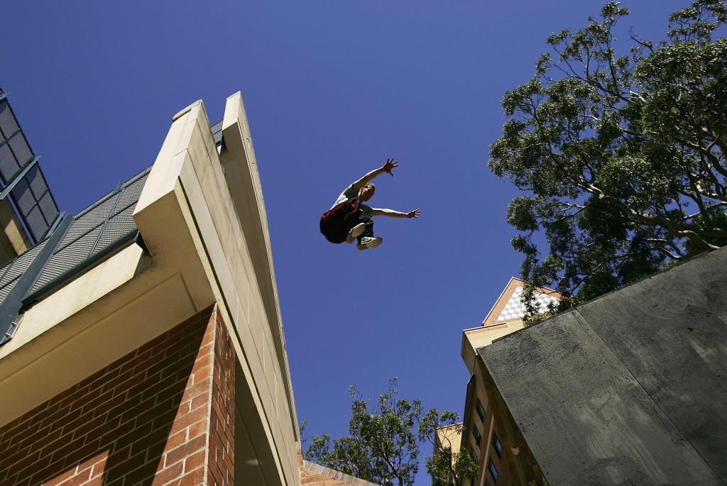 FIG's move into parkour has been opposed by several groups ©Getty Images