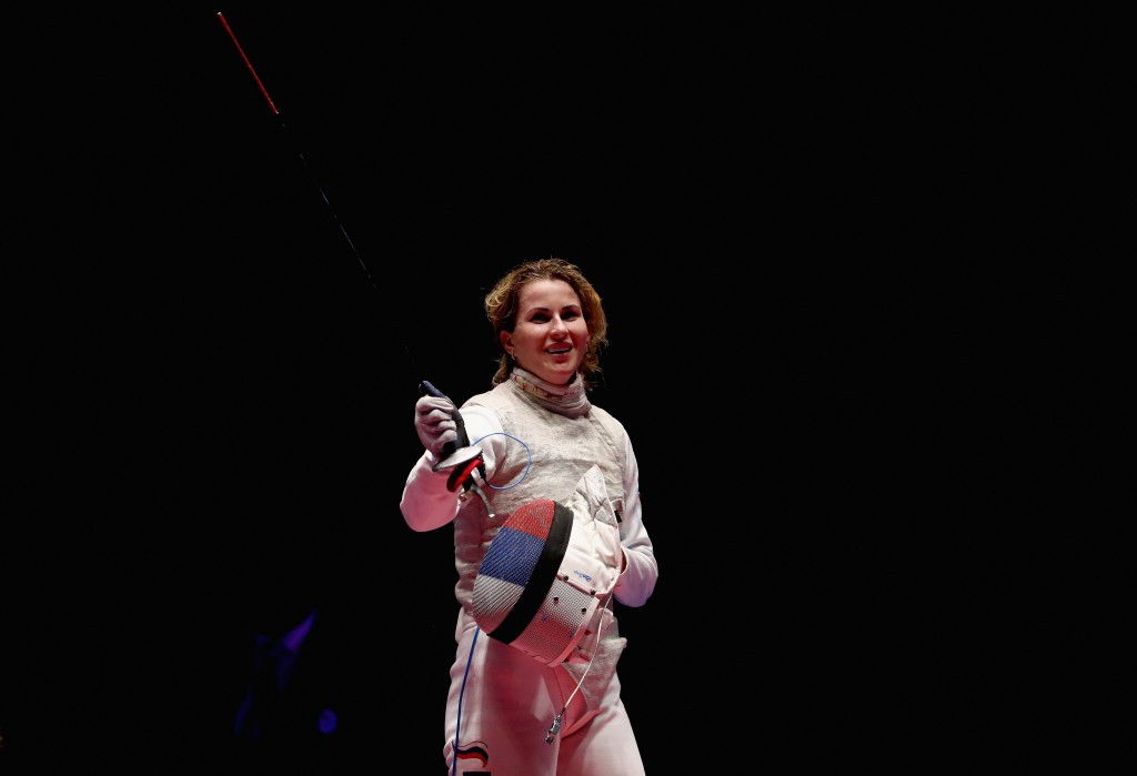 Inna Deriglazova was among the Russian fencers to win an Olympic gold medal after being cleared to compete at Rio 2016 and who were not face any further investigation from WADA ©Getty Images