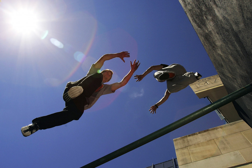 Voters on an insidethegames.biz poll have said that parkour should not be governed by the International Gymnastics Federation ©Getty Images