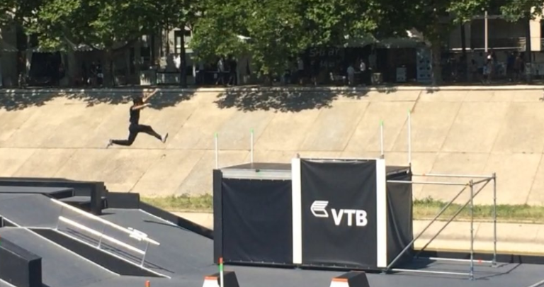 FIG recently held its inaugural Obstacle Course World Cup in Montpellier ©Jean-Philippe Gatien/Twitter