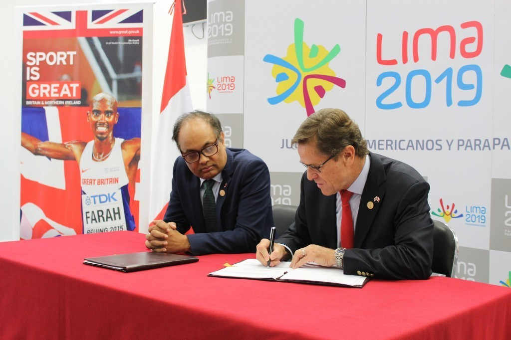 The UK Government are acting as the main delivery partner of Lima 2019 ©UK Government