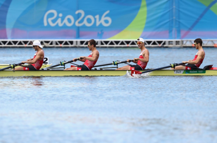 Switzerland won the Olympic gold in the men's lightweight four at Rio 2016, an event dropped for Tokyo 2020 ©Getty Images