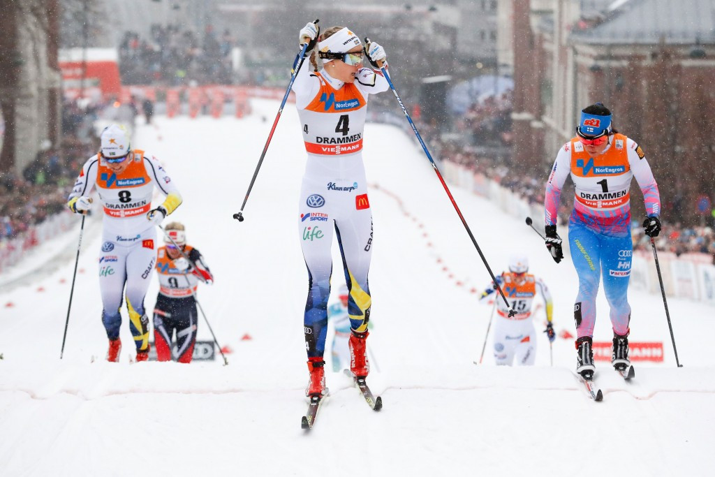 Cross-country skier adjusts training programme after health problems