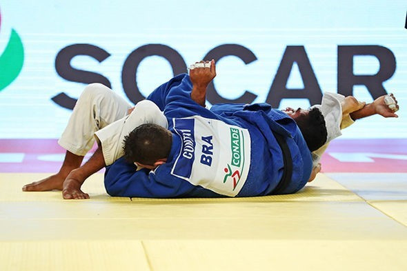 Brazil claim double gold on penultimate day of IJF Grand Prix in Cancun
