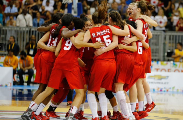 Canada overwhelm United States to claim first ever Pan American Games basketball title