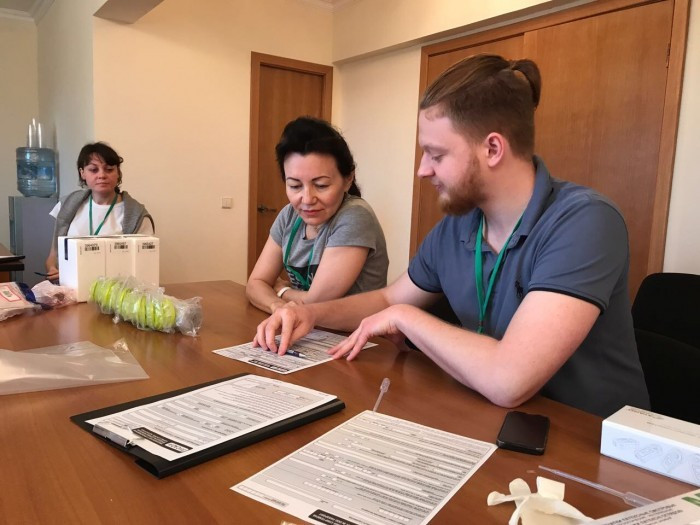 RUSADA employees have been taking part in a training programme ©RUSADA