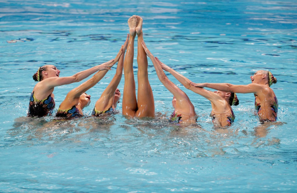 United States win team event at home Synchronised Swimming World Series