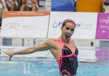 Double gold for Spain's Carbonell at Synchronised Swimming World Series