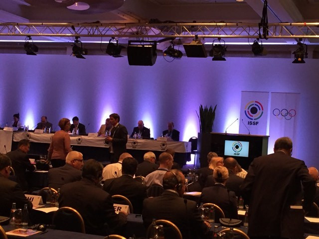 The establishment of the consultation forum was officially approved during the Extraordinary General Assembly ©ISSF