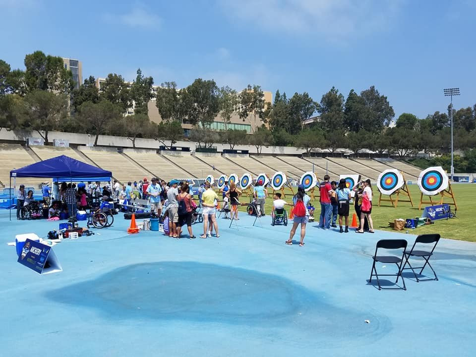 The Angel City Games have taken place in Los Angeles ©Angel City Games