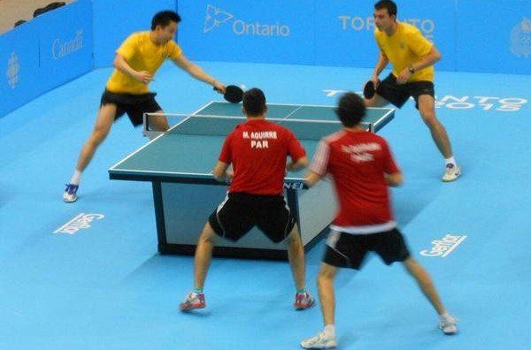 Brazil and US win in table tennis as Canada sparkle in athletics at Toronto 2015
