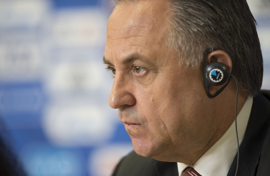 Vitaly Mutko has hit out against doping claims against Russian fooballers ©Getty Images