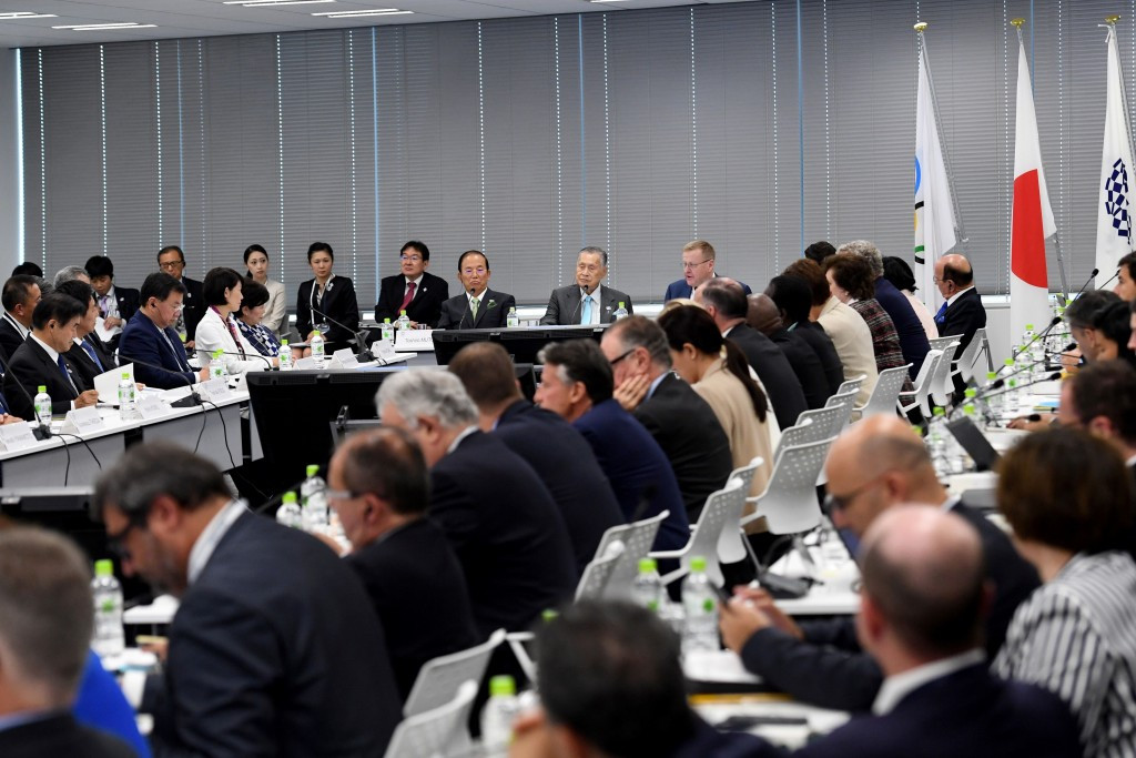 Tokyo 2020's efforts to reduce their budget were praised, but they were encouraged to make further cost cuts ©Getty Images