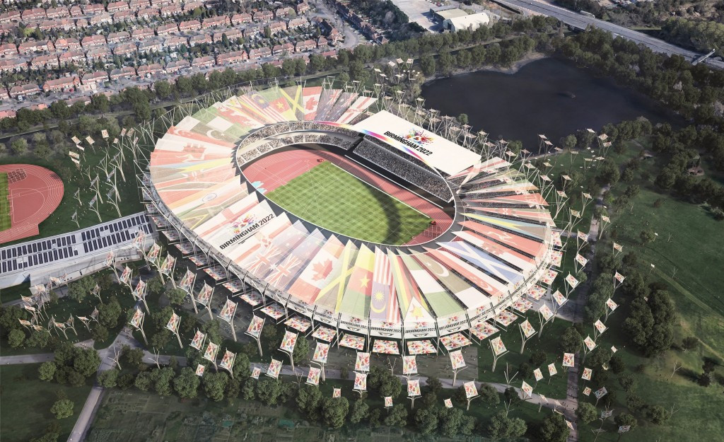 Birmingham 2022 are promising full stadia at a revamped 40,000-capacity Alexander Stadium if they are awarded the Commonwealth Games ©Birmingham 2022