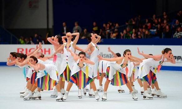 It is hoped that synchronised skating could feature at the 2022 Winter Olympics ©ISU