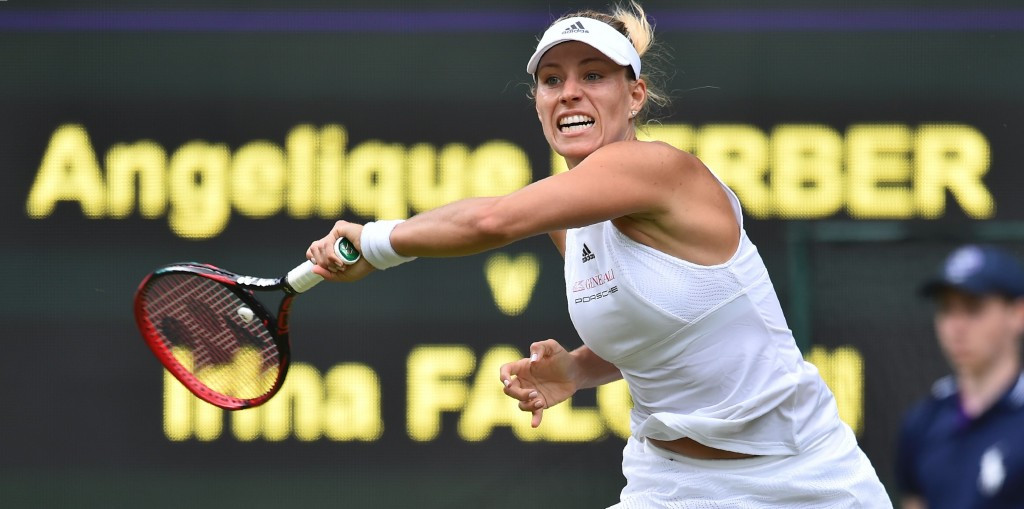 World number one Angelique Kerber won in two tight sets ©Getty Images