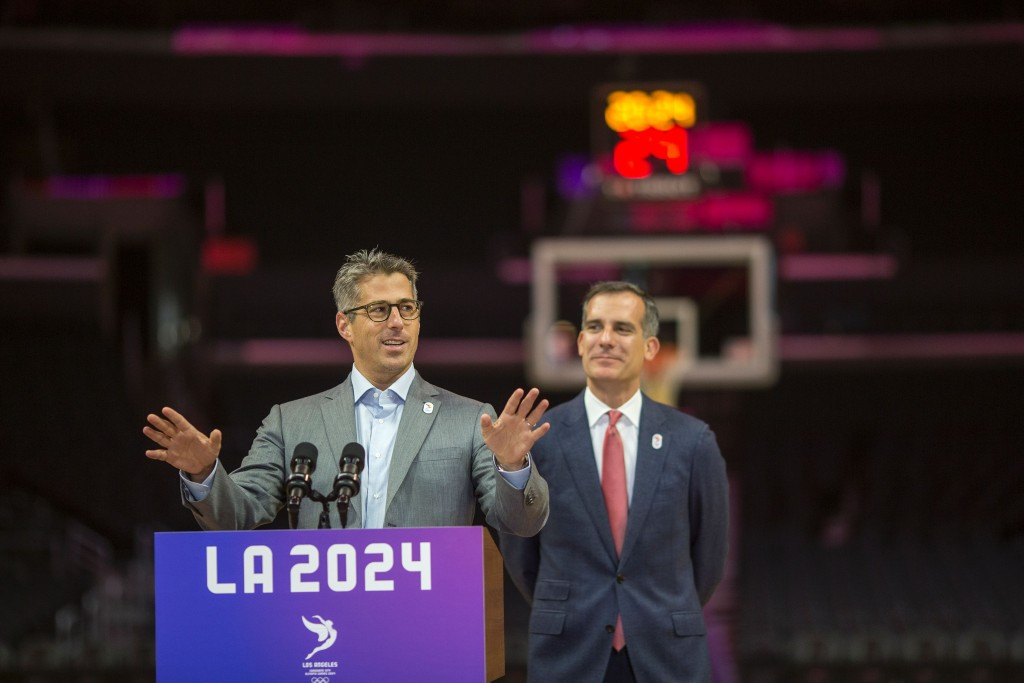 Public support is particularly high for Los Angeles 2024 ©Getty Images