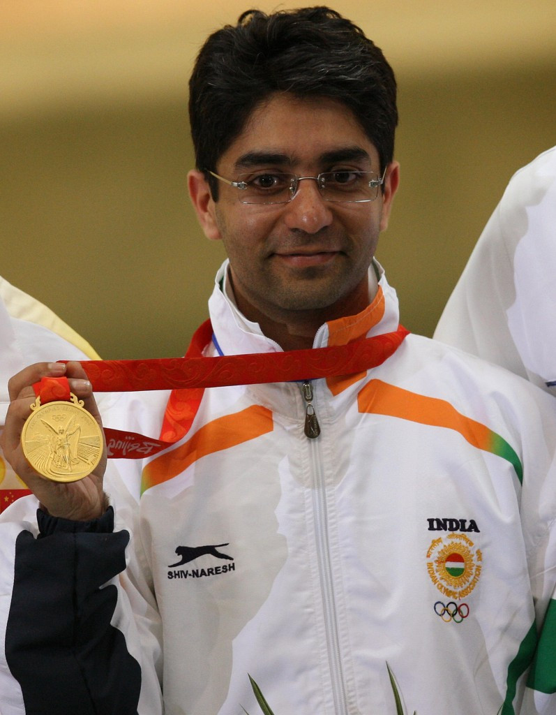 Abhinav Bindra is India's only individual Olympic gold medallist to date ©Getty Images