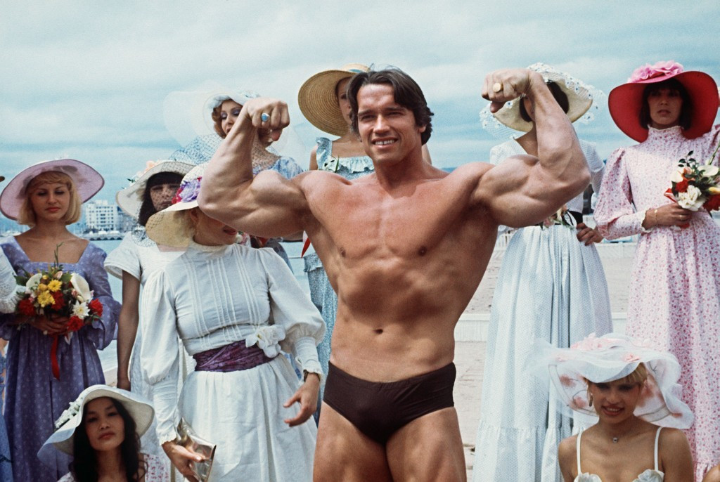 Arnold Schwarzenegger is one of the sport's most-recognised figures ©Getty Images