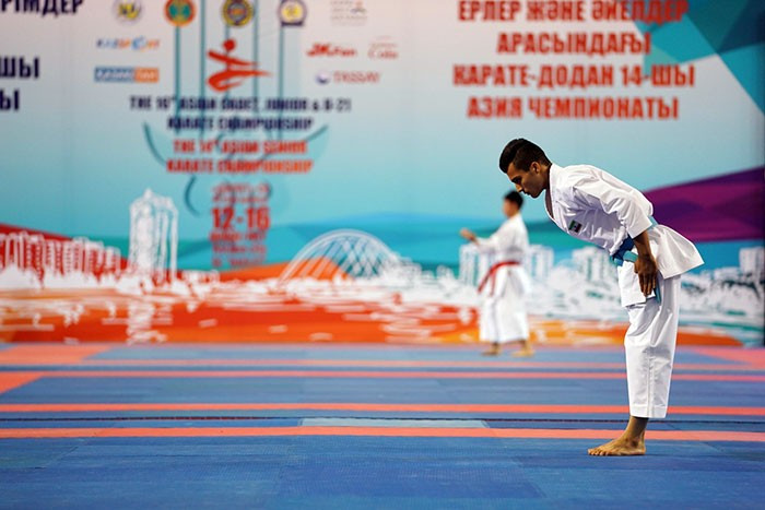 The Asian Karate Championships have concluded in Astana ©WKF