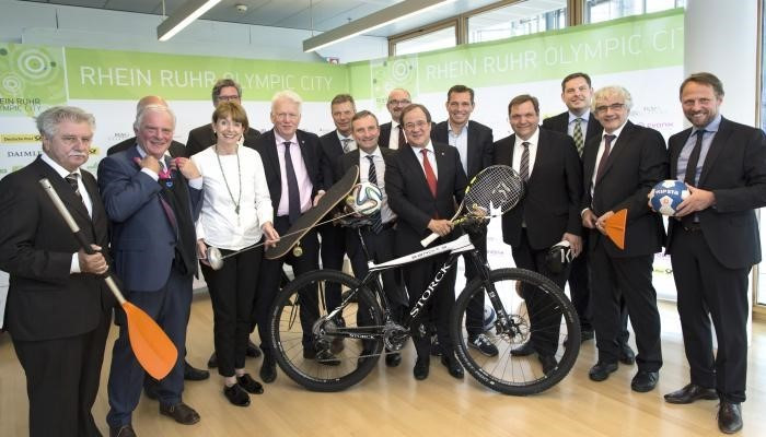 An ambitious 13-city plan for the 2032 Olympic and Paralympic Games has been unveiled by the German state of North Rhine-Westphalia ©RROC